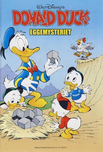 Cover for Bilag til Donald Duck & Co (Hjemmet / Egmont, 1997 series) #12-13/2013