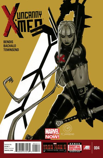 Cover for Uncanny X-Men (Marvel, 2013 series) #4 [Anka]