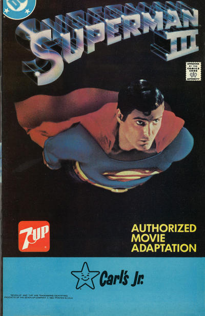Cover for The Superman Movie Special (DC, 1983 series) #1 [7-Up and Carl's Jr Giveaway]
