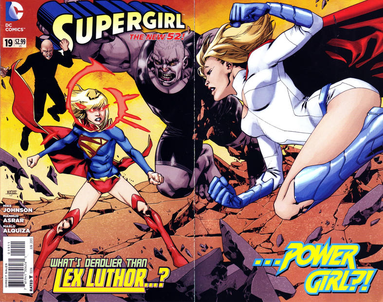 Cover for Supergirl (DC, 2011 series) #19