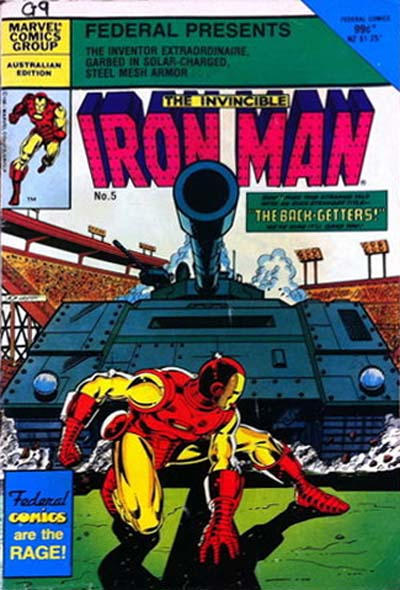 Cover for The Invincible Iron Man (Federal, 1985 ? series) #5
