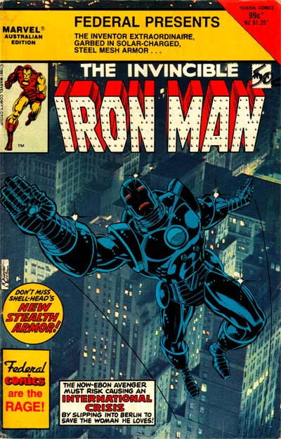 Cover for The Invincible Iron Man (Federal, 1985 ? series) #4