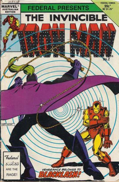 Cover for The Invincible Iron Man (Federal, 1985 ? series) #2