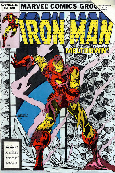 Cover for The Invincible Iron Man (Federal, 1985 ? series) #9