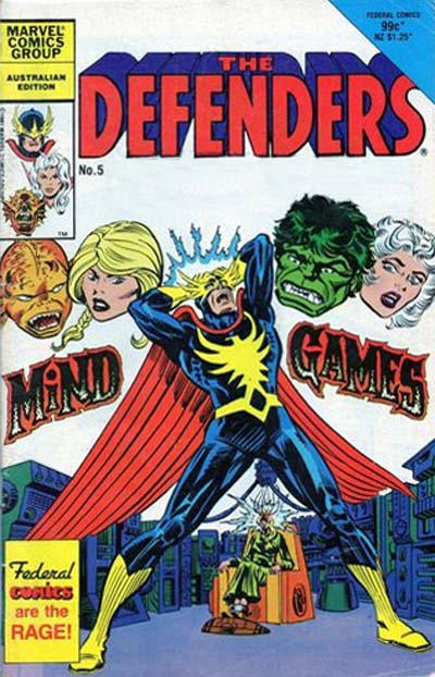 Cover for The Defenders (Federal, 1984 ? series) #5
