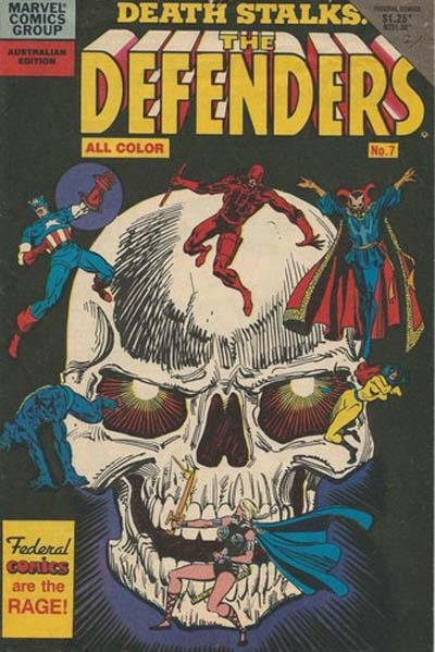 Cover for The Defenders (Federal, 1984 ? series) #7