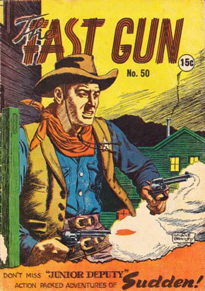 Cover for The Fast Gun (Yaffa / Page, 1967 ? series) #50