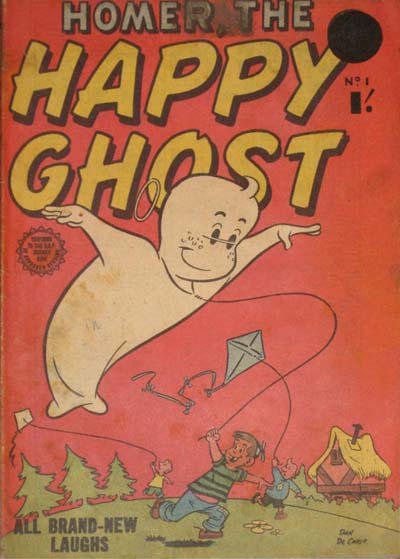 Cover for Homer, the Happy Ghost (Horwitz, 1956 ? series) #1