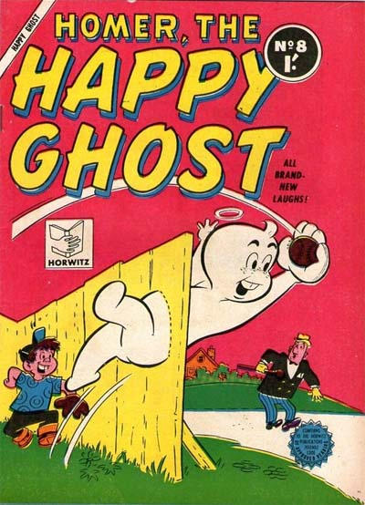 Cover for Homer, the Happy Ghost (Horwitz, 1956 ? series) #8