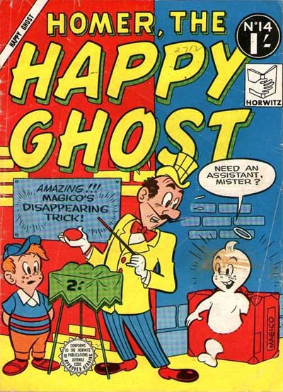 Cover for Homer, the Happy Ghost (Horwitz, 1956 ? series) #14