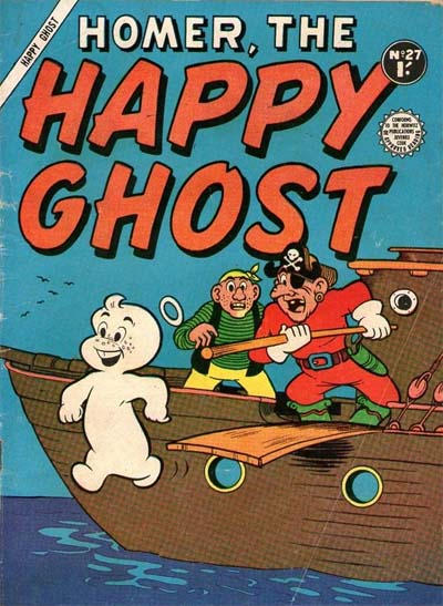 Cover for Homer, the Happy Ghost (Horwitz, 1956 ? series) #27