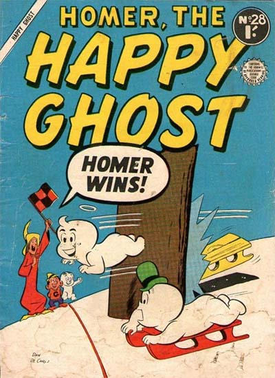 Cover for Homer, the Happy Ghost (Horwitz, 1956 ? series) #28