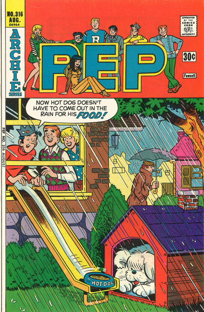 Cover for Pep (Archie, 1960 series) #316