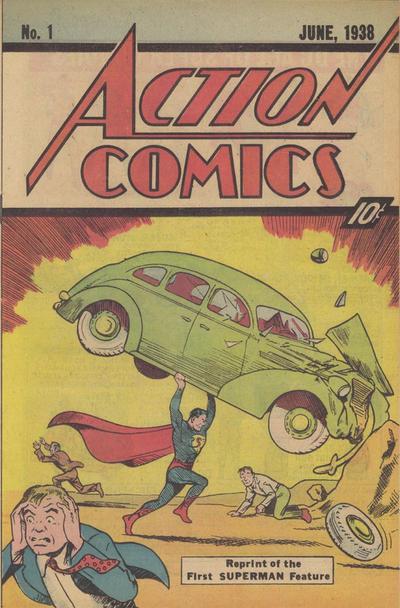 Cover for Action Comics [Superman Sleeping Bag] (DC, 1976 series) #1