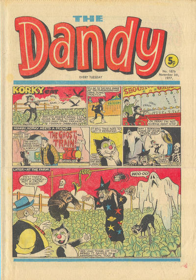 Cover for The Dandy (D.C. Thomson, 1950 series) #1876