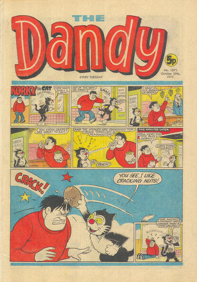 Cover for The Dandy (D.C. Thomson, 1950 series) #1875