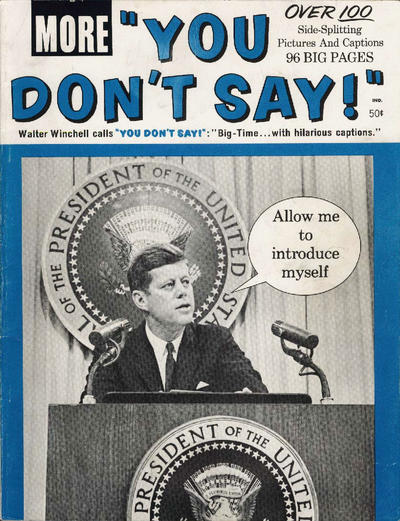 Cover for More You Don't Say! (Marvel, 1963 series) #[nn]