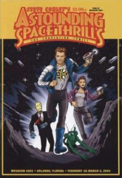 Cover for Astounding Space Thrills: The Convention Comics (Day One, 2003 series) #1