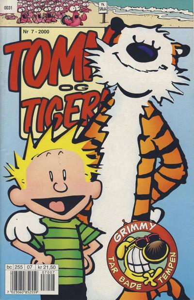 Cover for Tommy og Tigern (Bladkompaniet / Schibsted, 1989 series) #7/2000