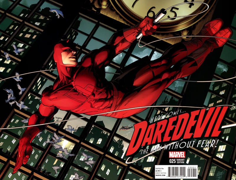 Cover for Daredevil (Marvel, 2011 series) #25