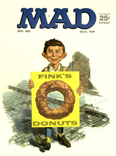 Cover for Mad (EC, 1952 series) #90