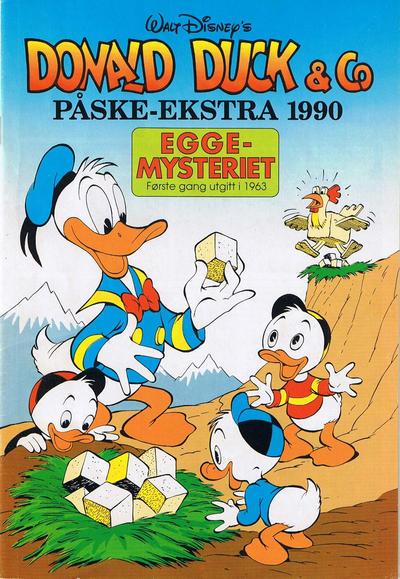 Cover for Donald Duck & Co Ekstra [Bilag til Donald Duck & Co] (Hjemmet / Egmont, 1985 series) #påske 1990