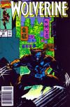 Cover for Wolverine (Marvel, 1988 series) #24 [Newsstand]