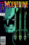 Cover for Wolverine (Marvel, 1988 series) #23 [Newsstand Edition]