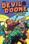 Cover for Devil Doone Adventure Comic (K. G. Murray, 1962 ? series) #43