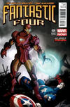 Cover for Fantastic Four (Marvel, 2013 series) #6 [Many Armors Of Iron Man Variant]