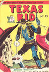 Cover for Texas Kid (Horwitz, 1950 ? series) #13