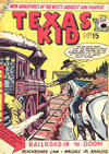 Cover for Texas Kid (Horwitz, 1950 ? series) #15