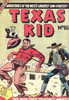 Cover for Texas Kid (Horwitz, 1950 ? series) #16