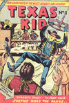Cover for Texas Kid (Horwitz, 1950 ? series) #11