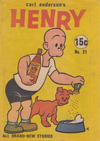 Cover for Carl Anderson's Henry (Yaffa / Page, 1965 ? series) #21