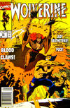 Cover Thumbnail for Wolverine (1988 series) #35 [Newsstand]