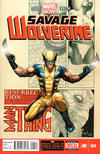 Cover Thumbnail for Savage Wolverine (2013 series) #4