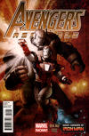 Cover Thumbnail for Avengers Assemble (2012 series) #14 (14AU) [Many Armors of Iron Man by Stephane Roux]