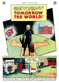 "Cover Thumbnail for Comic Cavalcade ""Tomorrow the World"" (DC, 1945 series)  [Original]"