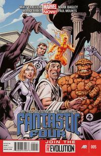 Cover Thumbnail for Fantastic Four (Marvel, 2013 series) #5
