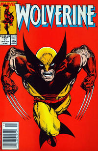 Cover Thumbnail for Wolverine (Marvel, 1988 series) #17 [Newsstand Editon]