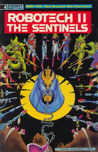 Cover Thumbnail for Robotech II: The Sentinels Book II (Malibu, 1990 series) #4