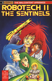 Cover Thumbnail for Robotech II: The Sentinels The Malcontent Uprisings (Malibu, 1989 series) #1