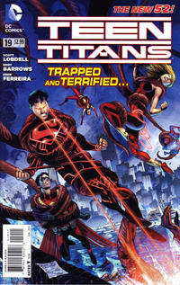 Cover Thumbnail for Teen Titans (DC, 2011 series) #19 [Direct Sales]