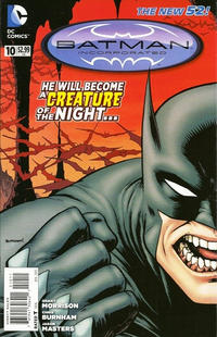 Cover Thumbnail for Batman Incorporated (DC, 2012 series) #10
