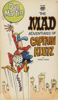 Cover Thumbnail for The Mad Adventures of Captain Klutz (New American Library, 1967 series) #P3496 [7th printing]
