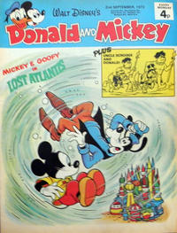 Cover Thumbnail for Donald and Mickey (IPC, 1972 series) #25