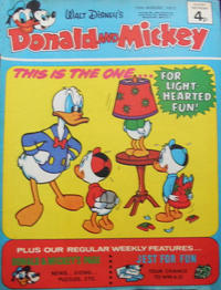 Cover Thumbnail for Donald and Mickey (IPC, 1972 series) #23