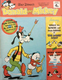 Cover Thumbnail for Donald and Mickey (IPC, 1972 series) #22