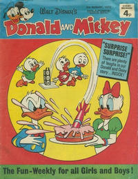 Cover Thumbnail for Donald and Mickey (IPC, 1972 series) #21